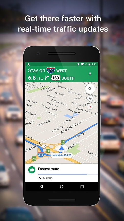 دانلود رایگان آخرین نسخه برنامه گوگل مپز Google Maps