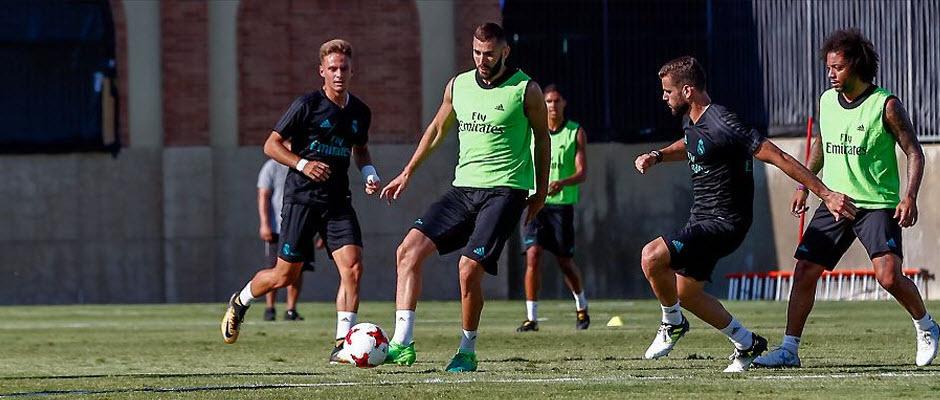 بازگشت بنزما به تمرینات رئال مادرید