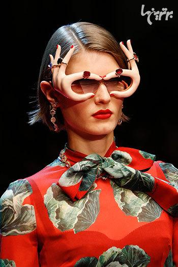 عجیب ترین عینک های آفتابی کلکسیون «دولچه و گابانا»