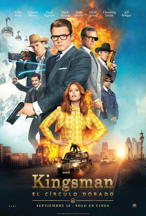 دانلود فیلم کینگزمن: محفل طلایی Kingsman: The Golden Circle 2017