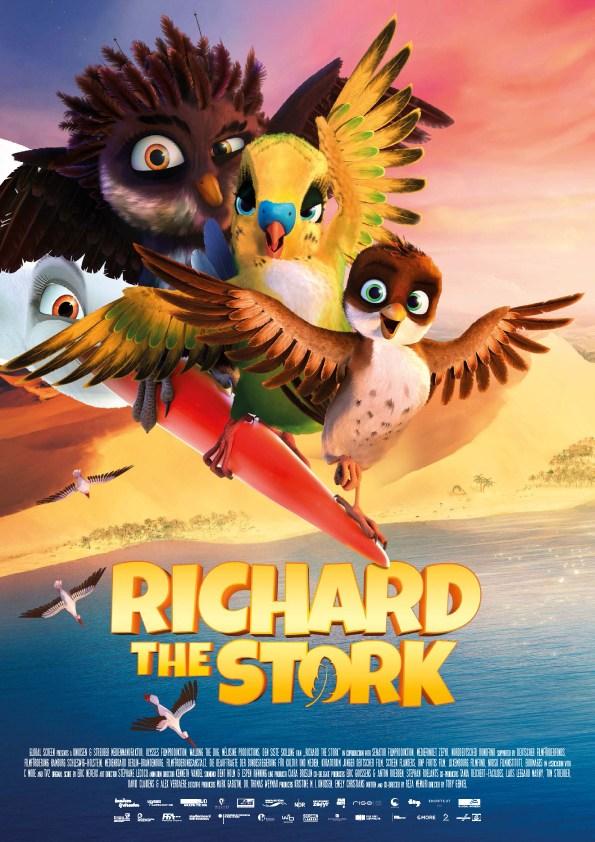دانلود انیمیشن سفر یک لک لک A Storks Journey 2017