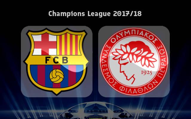 پخش زنده و انلاین بازی بارسلونا و المپیاکوس