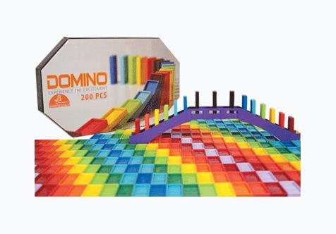 بازی فکری دومینو 300 قطعه