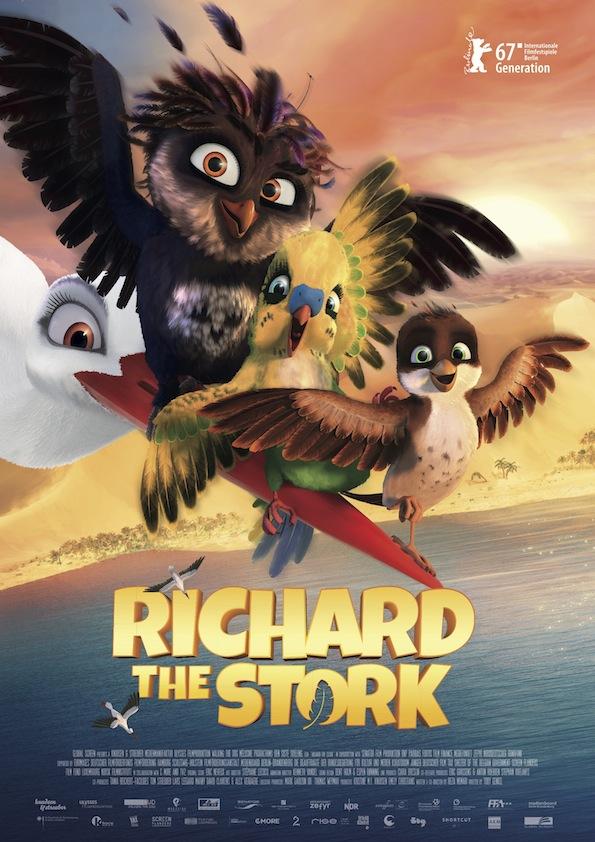 دانلود فیلم A Storks Journey 2017 با زیرنویس فارسی