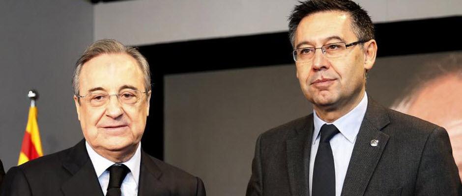 پرز: نمی توانم اسپانیا را بدون کاتالونیا و لالیگا را بدون بارسلونا تصور کنم