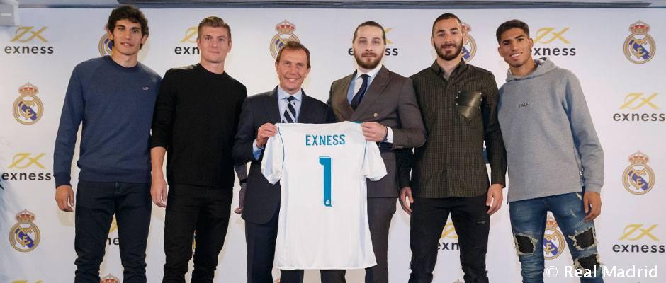 رئال مادرید از اسپانسر جدید خود رونمایی کرد
