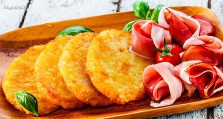 طرز تهیه کتلت ماهی خوشمزه با ماهی کیلکا چرخ کرده ، تن ماهی و سیب زمینی