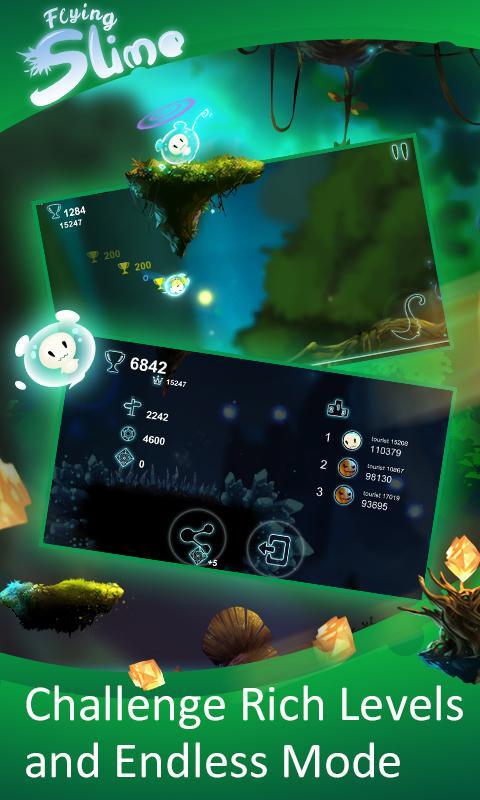 دانلود رایگان بازی لجن معلق Flying Slime