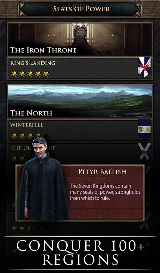 دانلود رایگان بازی تاج و تخت : فتح Game of Thrones: Conquest™