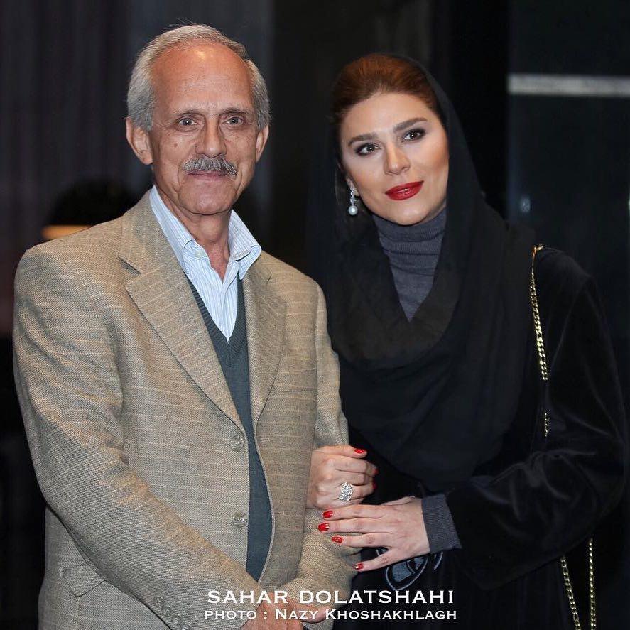 پدر سحر دولتشاهی