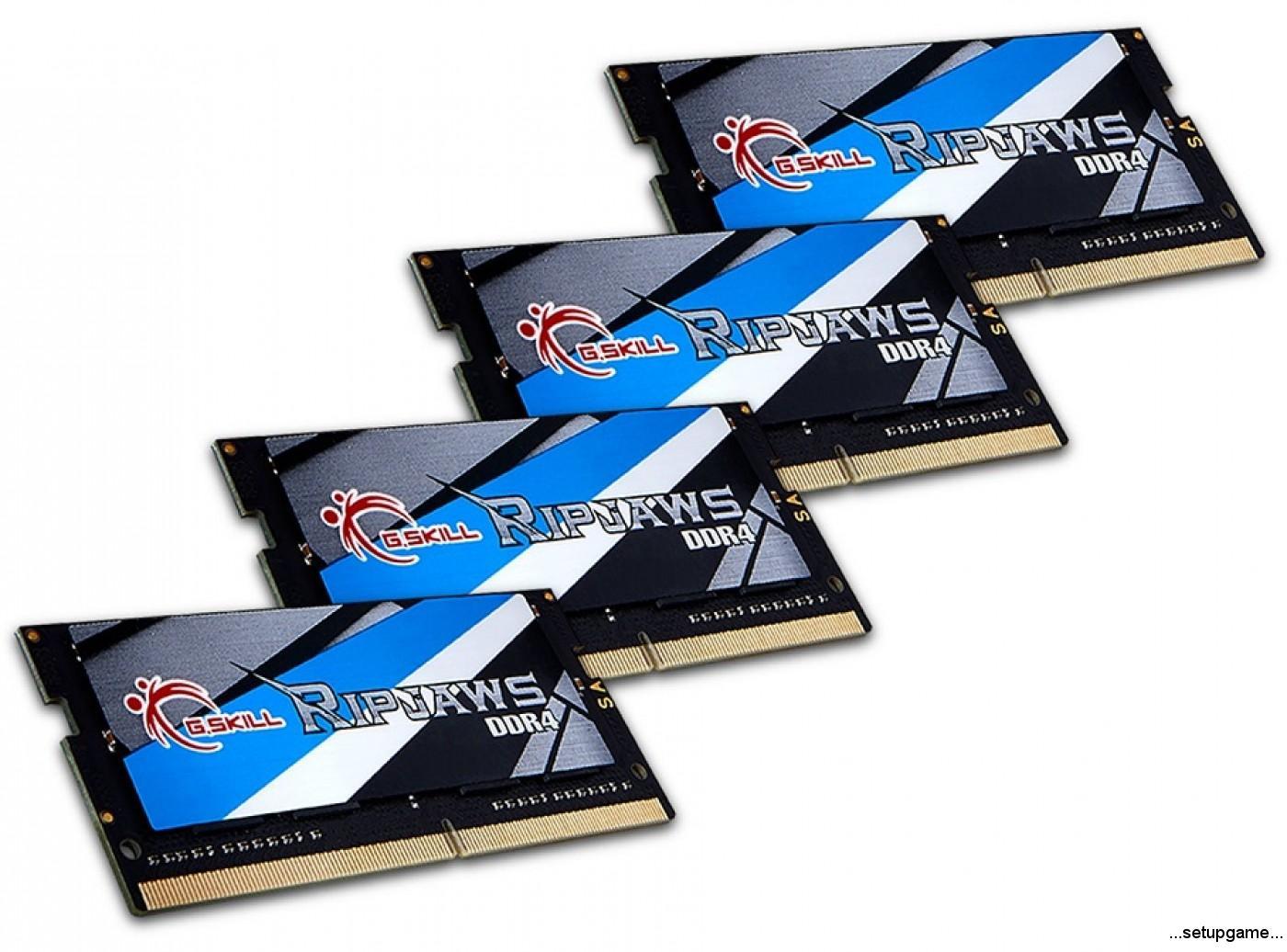 سریع ترین رم های SO-DIMM جهان از جی اسکیل معرفی شد