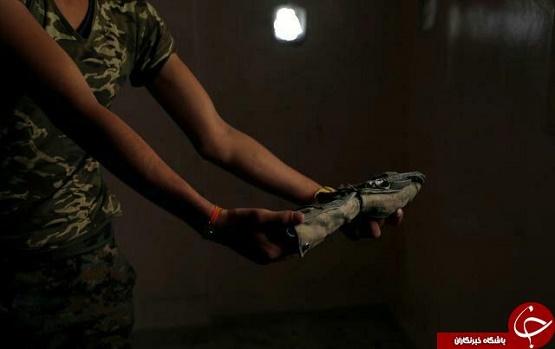 یادگاری های سیاه داعش در رقه + تصاویر