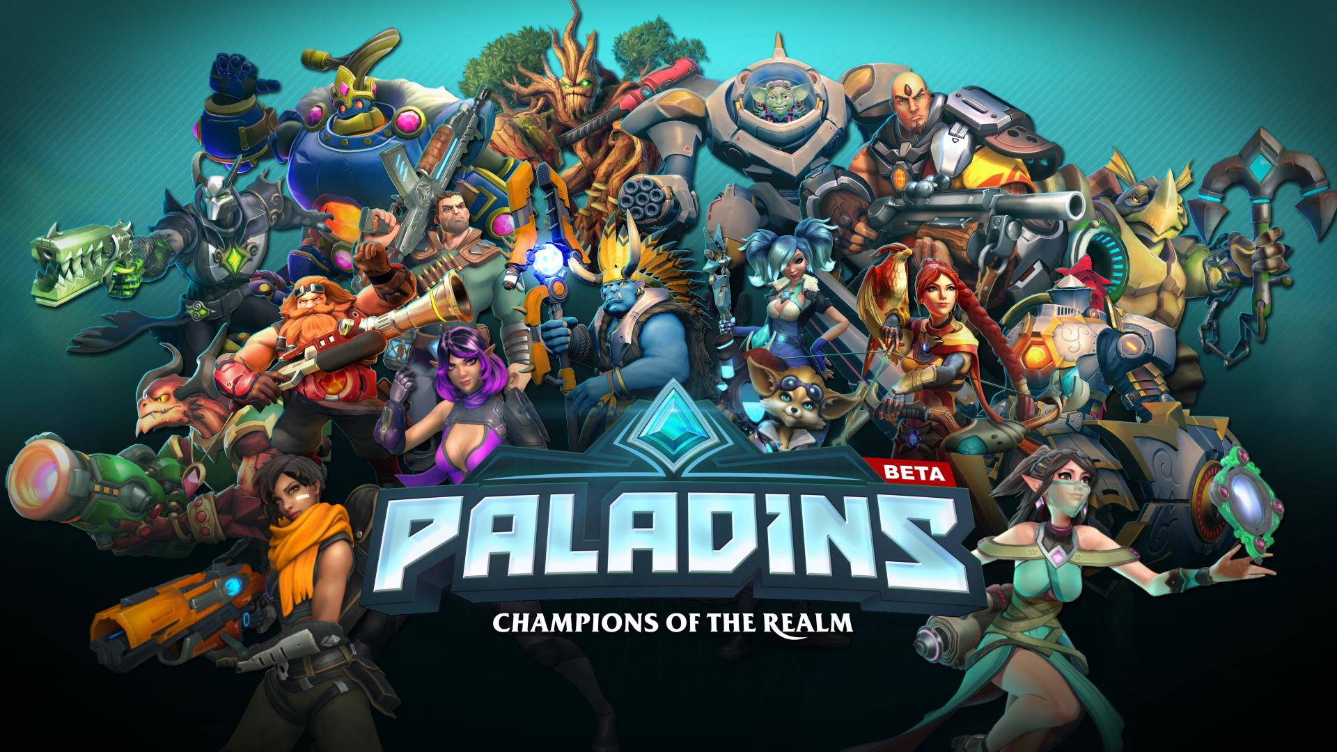 دانلود بازی پالادینز- Paladins