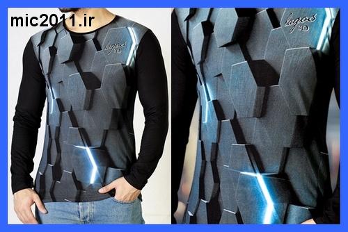 خرید فروش سفارش تی شرت ارزان با شروع فصل پاییز محصولی جدید را به شما معرفی مینماییم تی شرت آستین بلند سه بعدی Hex  که از طرحی بی  نظیر و حیرت انگیر برخودار است