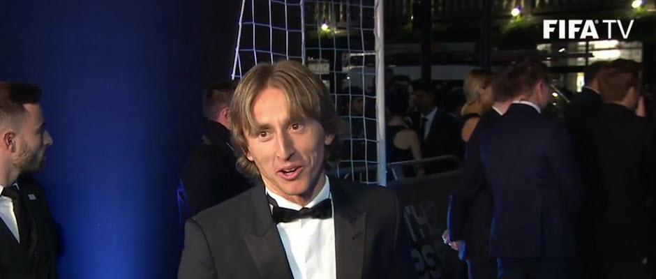 لوکا مودریچ: رونالدو بدون شک بهترین بازیکن سال بود