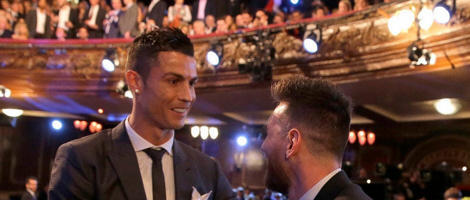 رونالدو و مسی رکورد دار حضور در تیم منتخب سال فیفا شدند