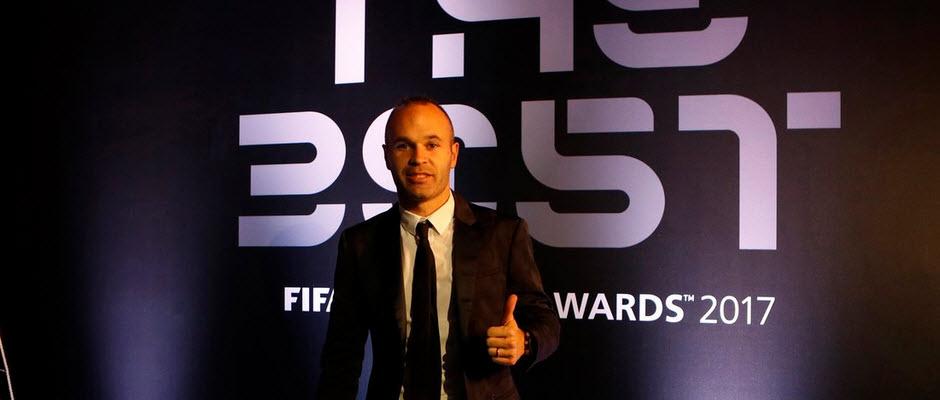 اینیستا: رونالدو شایسته جایزه بازیکن سال بود اما برای من مسی بهترین است