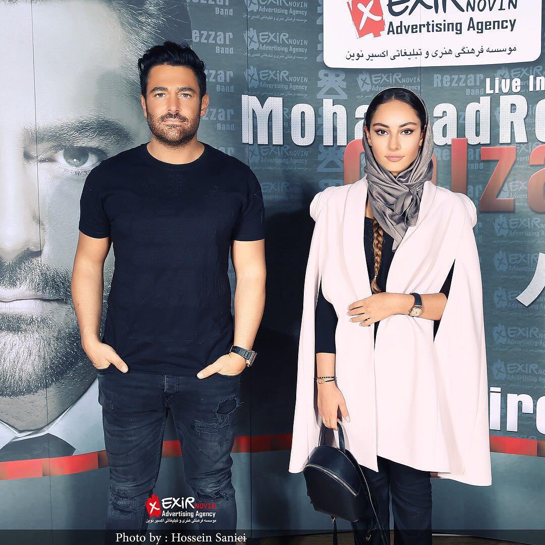 ترلان پروانه و محمد رضا گلزار