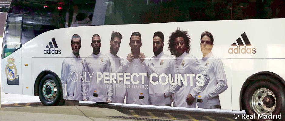 رئال مادرید برای بازی با خیرونا از اتوبوس رسمی اش استفاده نمی کند