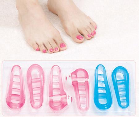 ماساژور ویبره انگشتان پا و دست pampered toes اصل