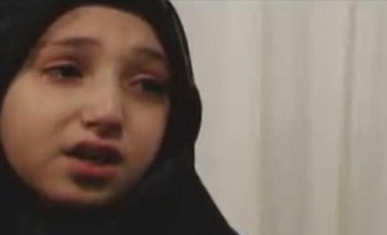 درد دل جانسوز دختر شهید مدافع حرم + فیلم