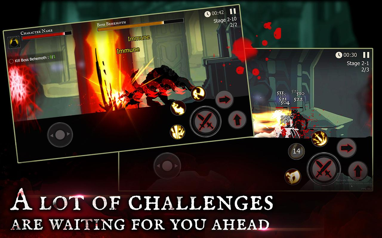دانلود Shadow of Death: Dark Knight 1.36.2.1 - بازی اکشن شوالیه تاریکی برای اندروید + مود + دیتا