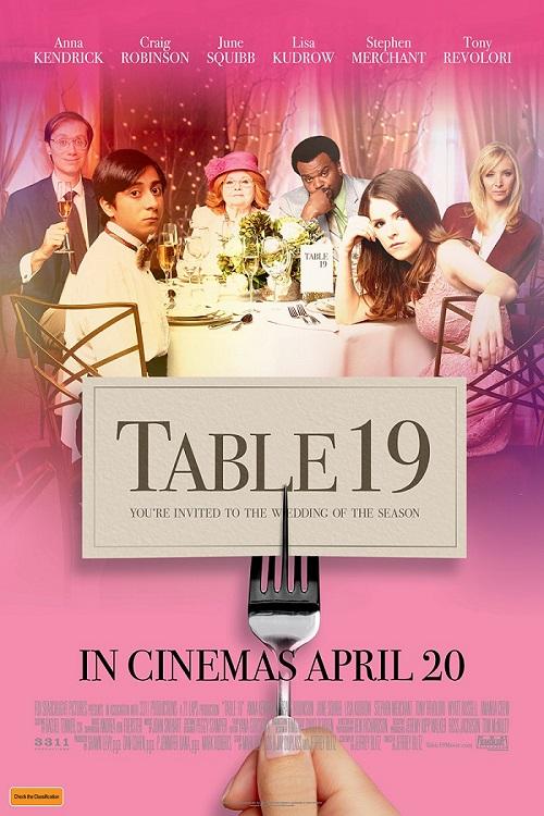 دانلود فیلم Table 19 2017