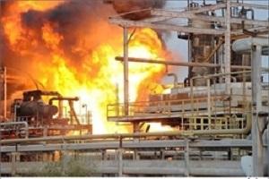 جزئیات آتش سوزی در پالايشگاه نفت تهران