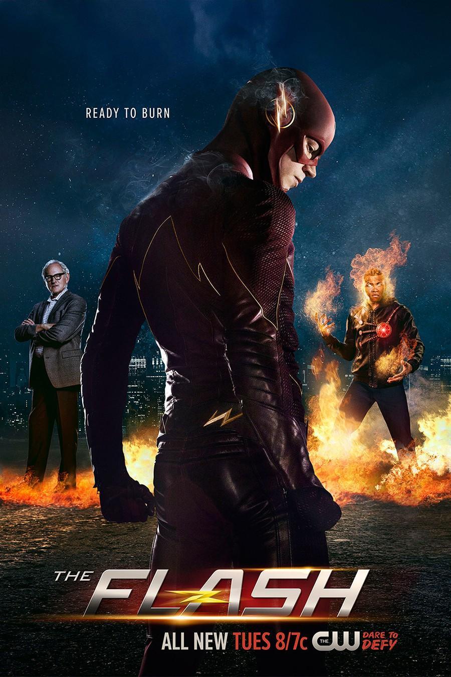 The%20Flash.9 1 دانلود سریال The Flash : قسمت آخر فصل ۴ اضافه شد