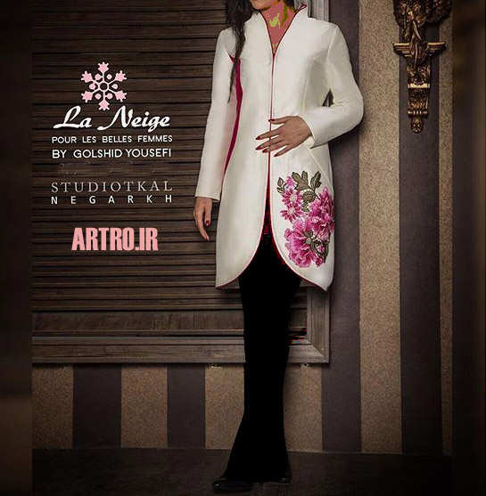 مدل مانتو کتی شیک 2018