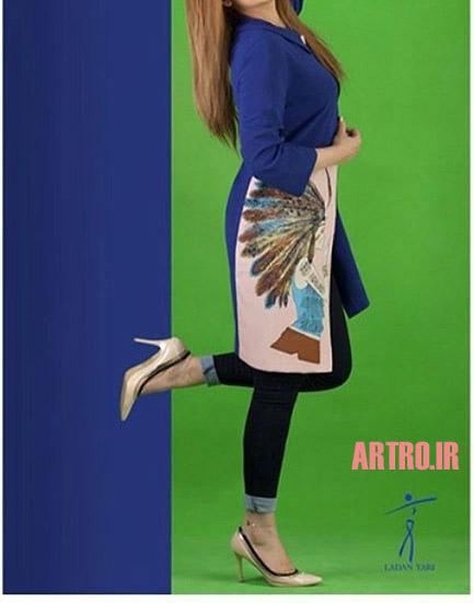 مدل مانتو دخترانه شیک 97