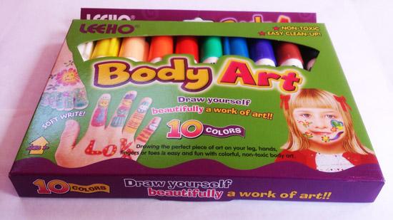رنگ مخصوص گریم کودک حرفه ای