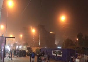 گرد و خاک در نجف، زائران را راهی بیمارستان کرد + فیلم