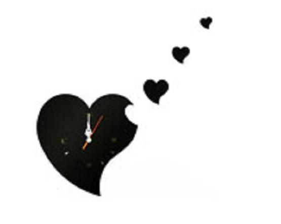 ساعت دیواری فانتزی قلب طرح جدید