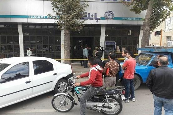 وقوع سرقت مسلحانه از بانک در خوی/یک نفر مصدوم شد