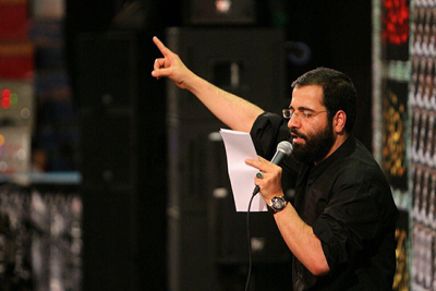 حاج حسین سیب سرخی  - شب 5 صفر 96