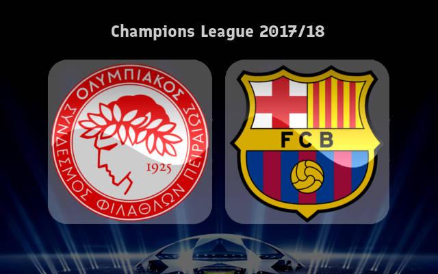 پخش زنده و انلاین بازی المپیاکوس و بارسلونا