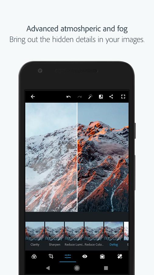 دانلود Adobe Photoshop Express 5.1.520 - برنامه فتوشاپ برای اندروید و آی او اس