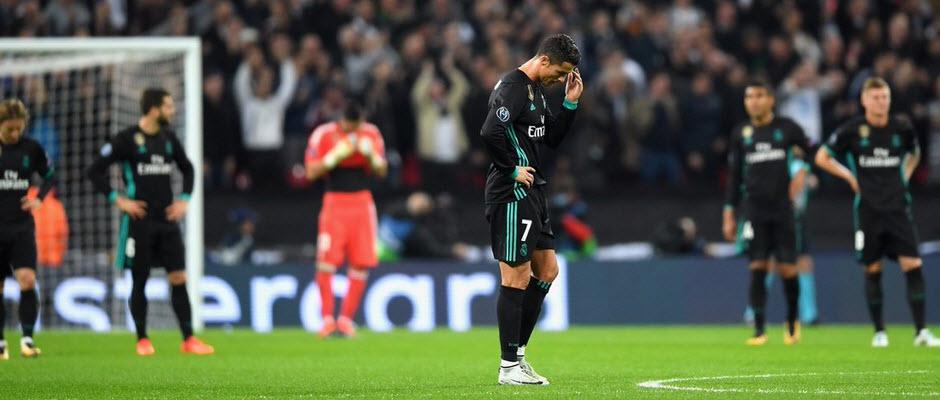 رئال پس از 30 بازی بدون باخت در مرحله گروهی لیگ قهرمانان ، شکست خورد