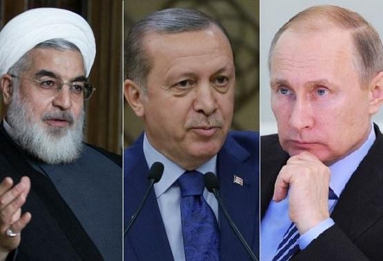 ایران، روسیه و ترکیه تنها صدای واحد در برابر آمریکا