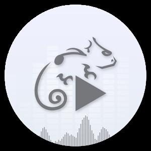 دانلود برنامه Stellio ExoBlur Theme v1.25 - تم بسیار زیبا و مدرن موزیک پلیر Stellio برای اندروید