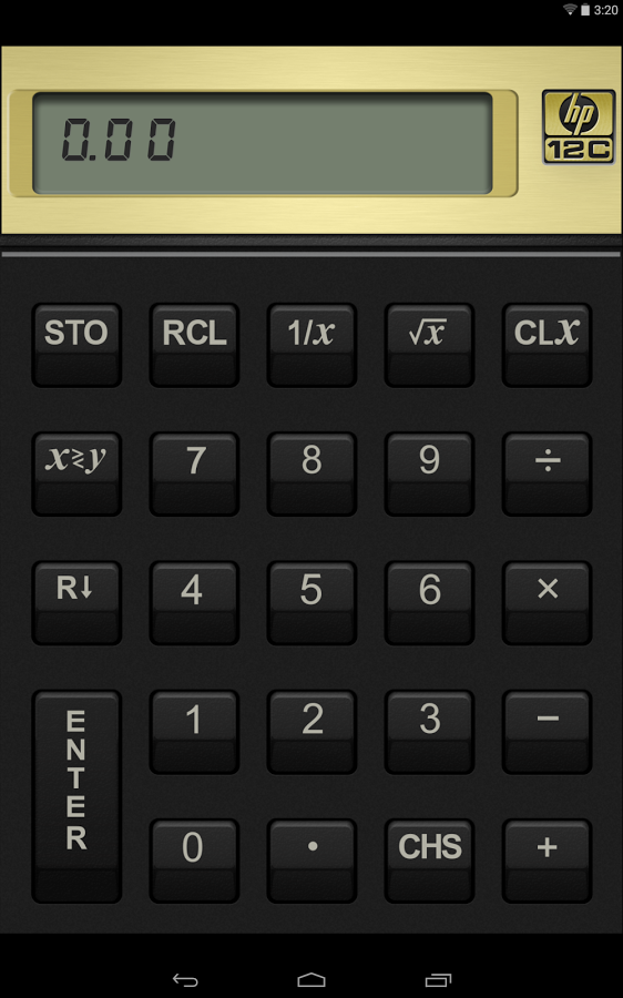 دانلود رایگان آخرین نسخه برنامه ماشین حساب معتبر اچ پی HP 12c Financial Calculator
