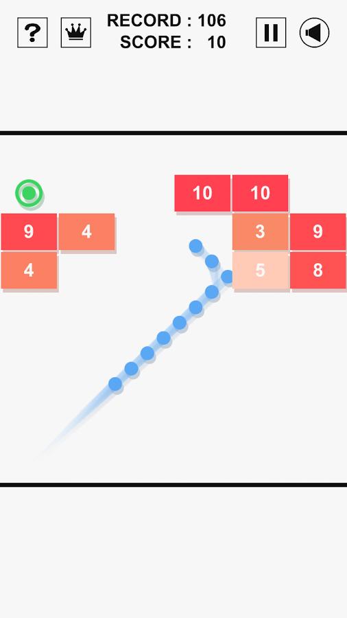 دانلود Swipe Brick Breaker 1.3.3 - بازی فوق العاده شکستن آجر برای اندروید و آی او اس