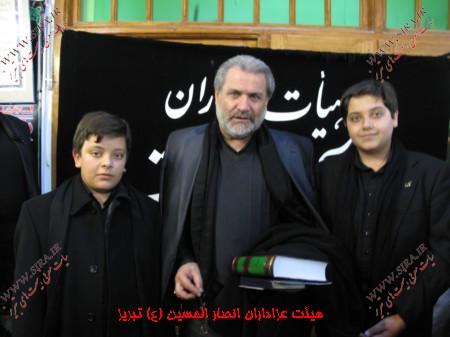 روضه حاج مهدی خادم آذریان و ناصر شمس - کوچ از خرابه شام