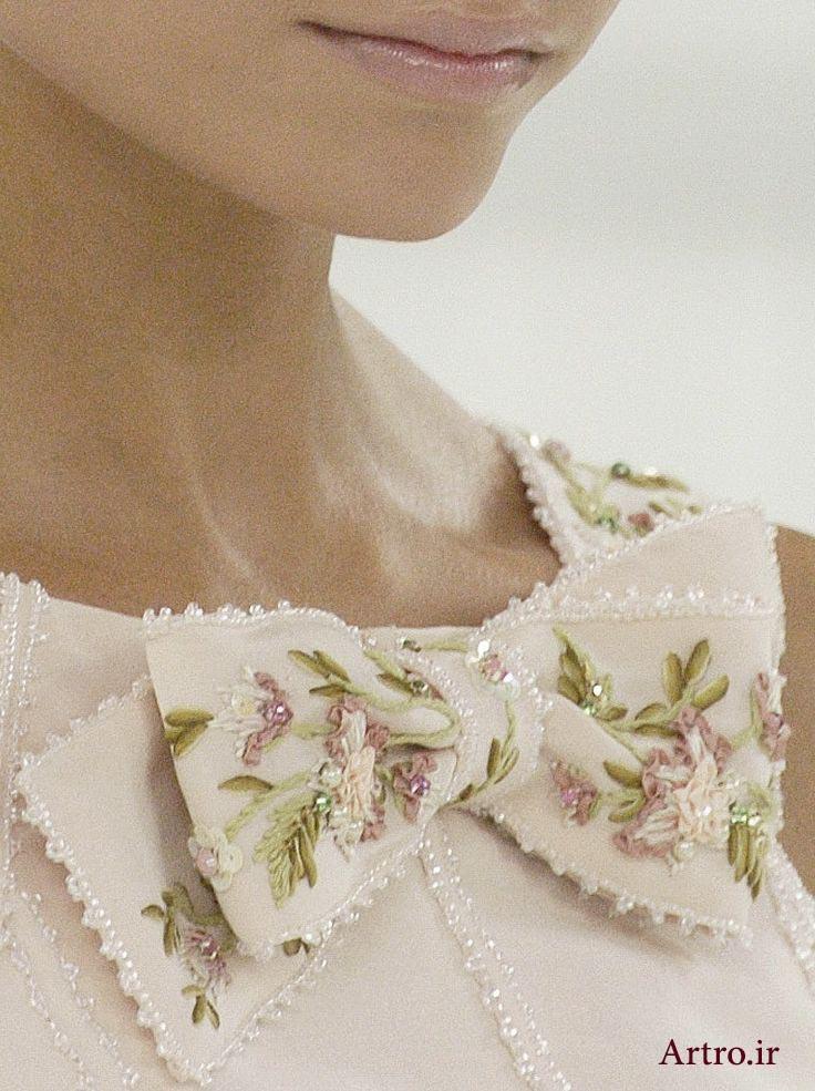 آموزش و مدل تزیین لباس