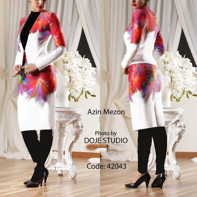 مدل کت و دامن با پارچه