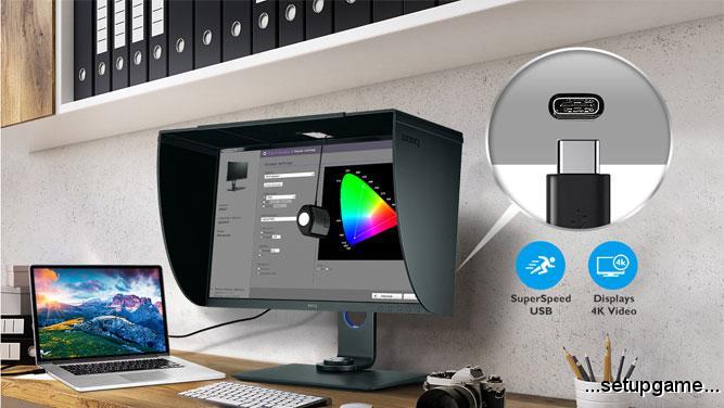 BenQ مانیتور SW271 را برای عکاسان و طراحان حرفهای معرفی کرد؛ وضوح 4K با بالاترین دقت رنگ ممکن