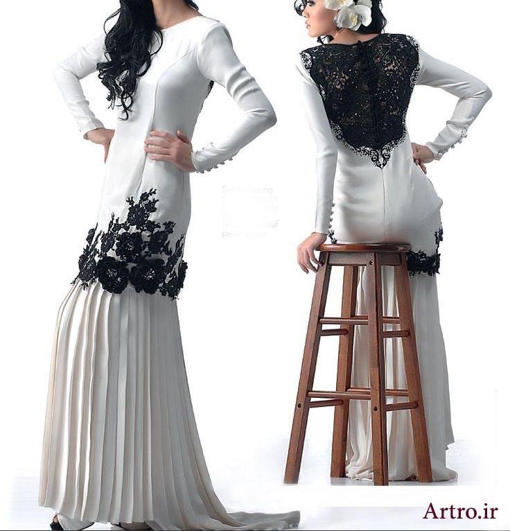مدل لباس مجلسی بلند جدید1