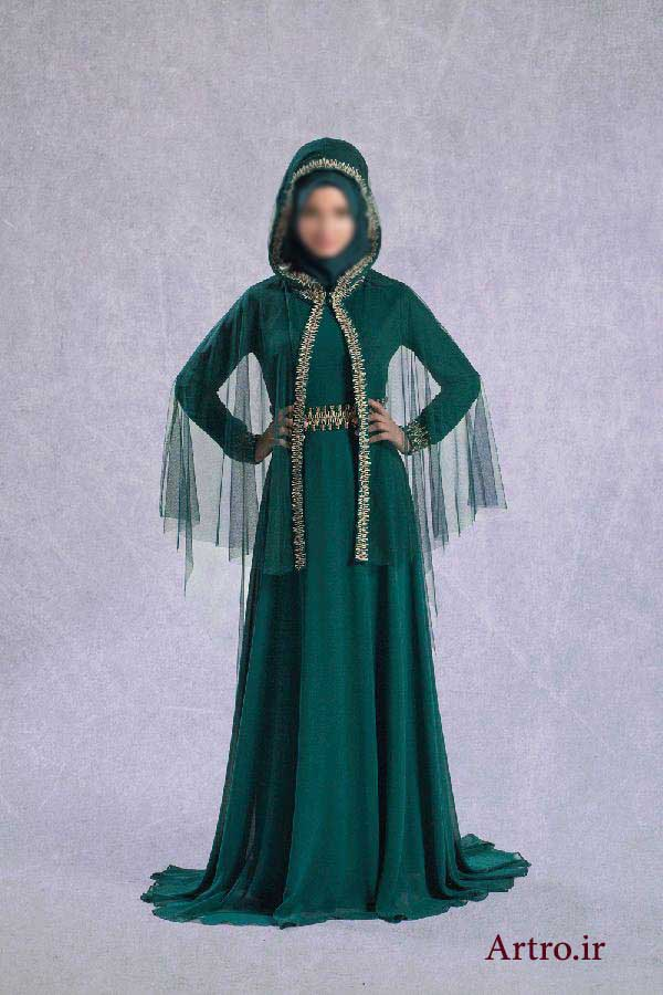 مدل لباس مجلسی بلند جدید2