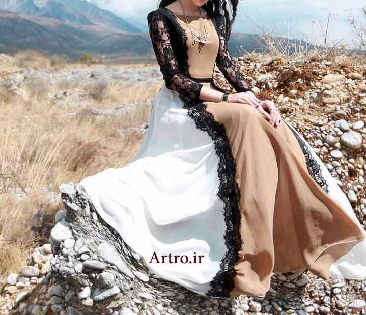 مدل لباس مجلسی بلند جدید4